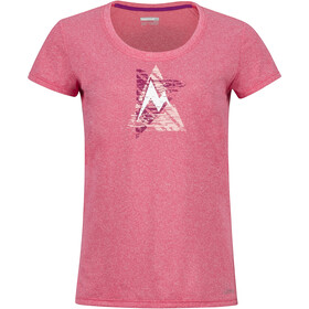 Marmot Post Time Tee Dam hibiscus